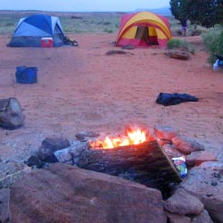 Dry Fork Coyote Gulch Camping
