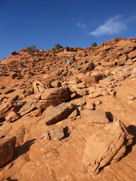 Egypt slot canyon