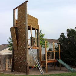 Our Rock Climbing Wall