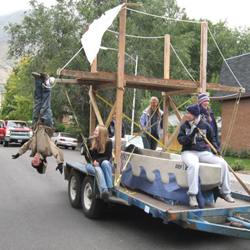 Float - Homecoming 2008