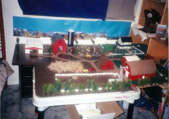 Farm house project for school