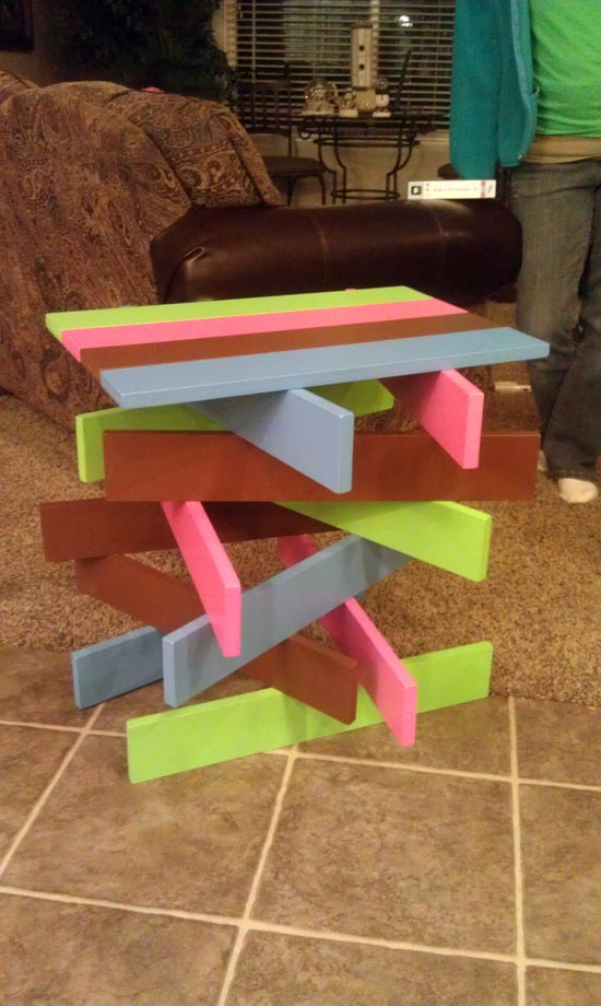 DIY Project: Stack-It-Up Table