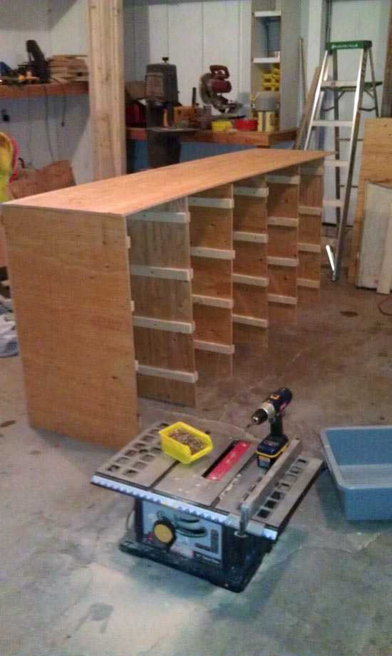 workbench for garage and shop